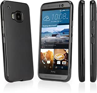 HTC One (M9 2015) 和 (M9 Plus) TPU 手机壳bw-682-5490-0 HTC One (M9 2015) 乌黑色