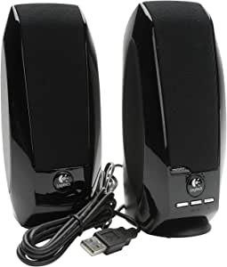 Logitech S150 立体声扬声器 OEM 黑色