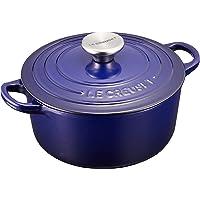 Le Creuset 酷彩 COCOTTE RONDE 搪瓷锅 IH 对应 18厘米 靛蓝色 21001-18-48