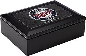 MLB 明尼苏达双城队黑色木纪念品盒