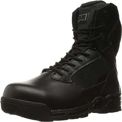 Magnum 男士 Stealth Force 20.32cm 侧拉链防水合成鞋头 I Shield *和战术靴