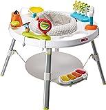 """Skip Hop 婴儿学步车:具有3阶段""""随我成长""""功能,4mo +,探索和更多功能的互动游戏中心"""