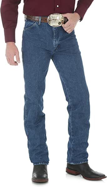 WRANGLER 男式牛仔修身牛仔裤  Stonewash 38W x 32L