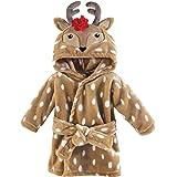 Hudson Baby 动物毛绒浴袍 Girl Reindeer 0-9 个月