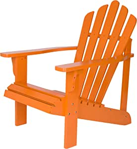 Shine Company Westport Adirondack Chair 柑橘色 28.25W x 35D x 36H inches