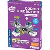 Thames & Kosmos 儿童*编码和机器人:挑战包 1 个科学实验套装 适合早期学习者  儿童*编码和机器人扩展包