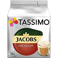 Tassimo Jacobs Café Au Lait Classico 经典拿铁咖啡 5包装(5 x 16 杯)