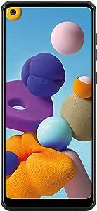 三星 Galaxy A21 LTE Verizon | 6.5 英寸屏幕 | 32GB 存储容量 | 持久电池 | 单卡 | 2020 型号 | 美国版本 | 黑色 - (SM-A215UZKAVZW)
