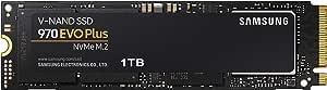 Samsung 三星(MZ-V7S1T0B / AM)970 EVO Plus SSD 1TB-具有V-NAND技术的M.2 NVMe接口内部固态驱动器