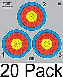 Archery 5 SPOT & 3 SPOT Vegas Targets,Longbow 8,20,50 和 200 包