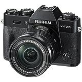 fujifilm x-t20-24.3 mp 无反光数码相机带 xc 16-50mm F3.5-5.6 Ois II 镜头,黑色