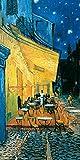 Culturenik Vincent Van Gogh Pavement Cafe at Night 装饰精美艺术 27.94 x 35.56 厘米明信片海报印刷品 unframed 12 x 24 TTL225