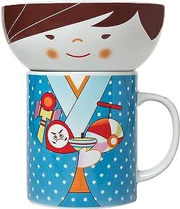 Miya Bowl and Mug Set, Blue Toys