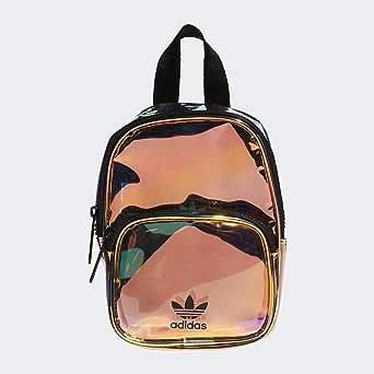 adidas 阿迪达斯 Original系列 男女通用 荧光材质 迷你背包,Radiant Metallic,均码