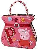 The Tin Box Company Peppa Pig 钱包 Tin Carry All 系列,粉色 小号 红色