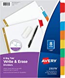 Avery Big Tab Two-Pocket Insertable Plastic Dividers, Pack o…