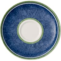 Villeroy & Boch 开关 3 Coupe 咖啡杯碟硬瓷,蓝色,14 厘米