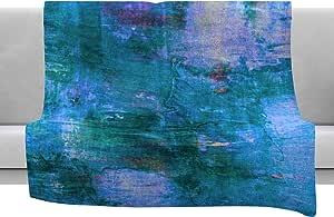 Kess InHouse EBI Emporium The Reef 蓝色青色羊毛毯 绿色 50x60; 60x80 JD1195AFB02