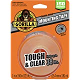 Gorilla 6036002 Tough & Clear XL Mounting Tape 150 inches 透明 2-(Pack)