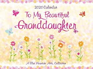 Blue Mountain Arts Beautiful Granddaughter 2020 日历