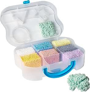 Educational Insights Playfoam Go!彩泥 | 无毒,不会干燥| 感官,塑造乐趣,儿童手工艺品| 大小适合旅行的感官玩具| 适合3岁以上儿童