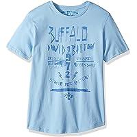 Buffalo David Bitton 男孩大码短袖图案 T 恤