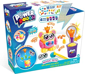CANAL TOYS Power Dough Magic 宠物箱互动面团(24 件)