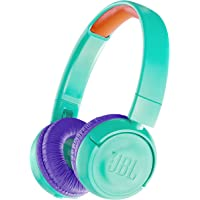 JBL 兒童藍牙頭戴式耳機 搭載音量控制功能/附自定義貼紙 JBLJR300BTTEL