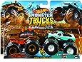 Hot Wheels Monster Demo 双倍卡车 2 只装 - 样式随机