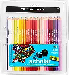 Prismacolor Scholar 彩色铅笔,48支