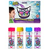 Lick-A-Bubble Create Flavored Bubbles! 60 months to 1188 months 4 Pack