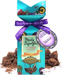 Monty Bojangles Flutter Scotch Cocoa Dusted Truffles Tall Gift 200g