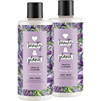 Love Beauty And Planet 沐浴露 Argan Oil & Lavender 16 ounce, 2 count