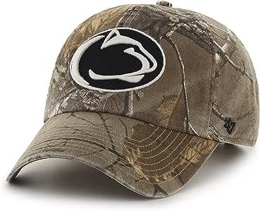 '47 NCAA Big Buck Clean Up 迷彩可调节帽子 Realtree 迷彩 均码 适合大多数