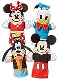 Melissa & Doug 米老鼠和朋友 柔软可爱手偶毛绒玩具