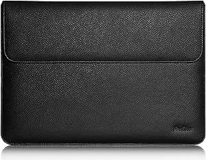 iPad Pro 12.9 英寸保护套、ProCase 钱包保护套适用于 Apple iPad Pro 12.9 英寸手机、苹果智能键盘、Documnet 口袋和 Apple 铅笔架IPADPRO-1156A-Black for Apple iPad Pro