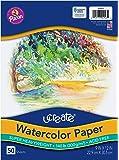 Art1st 水彩纸,140 磅,9 英寸 x 12 英寸,50 张 50 Sheets