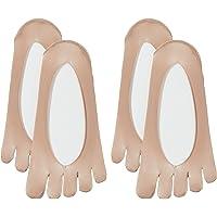 [ATSUGI] ATSUGI THE LER BAR(厚木杆)5指骨素调 袜套 无缝制型 〈2双装〉 女士 VLN4580