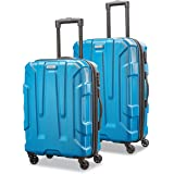 Samsonite 新秀丽 Centric 硬壳可扩展行李箱 带万向轮 蓝色 2-Piece Set (20/24)