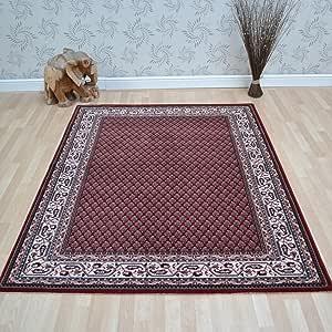 地毯直接地毯 红色 150cm x 200cm 8202
