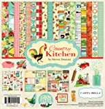 "Carta Bella Collection Kit 12""X12""-Country Kitchen"