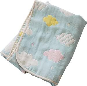 Sandesica 2423-9999-04 毯子 6 重纱布宝宝空调被 [対象] 0ヶ月 ~ Kumu ベビーサイズ