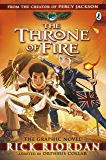 The Throne of Fire: The Graphic Novel (The Kane Chronicles Book 2) (Kane Chronicles Graphic Novels) (English Edition)
