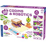 Thames & Kosmos 儿童*编码和机器人 | 无需应用软件 | K-2 年级 | 顺序、循环、功能、条件、事件…