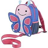Skip Hop 蹦蹦跳跳动物园系列儿童和幼儿*包带背包 蝴蝶