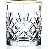 Lorren Home Trends Siena Collection Crystal Double Old Fashi…