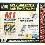 KATO N轨距 无端线路 基本套装 master 1 20-852 铁道模型 轨道套装