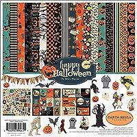 Carta Bella Paper Company CBHAL104016 Happy Halloween 系列纸质,橙…