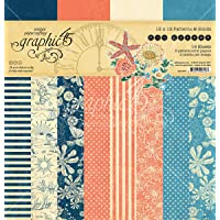 """Graphic 45 Double-Sided Paper Pad 12""""X12"""" 16/Pkg-Sun Kissed…"""