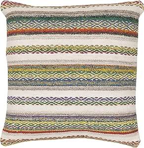 Surya Isabella 枕头套装,55.88 厘米 x 55.88 厘米,多色